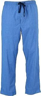 Men's Woven Plaid Drawstring Sleep Pajama Pants