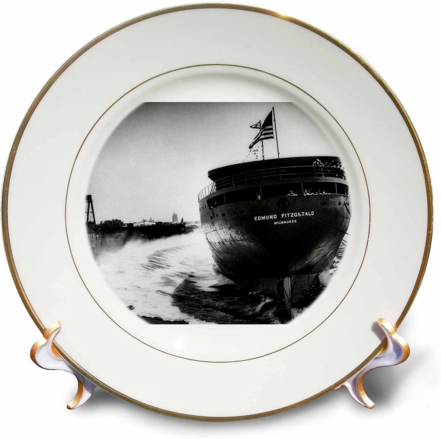 3dRose cp_6817_1 New Save money arrival Launching of Fitzgerald-Porcelain The Edmund Pl