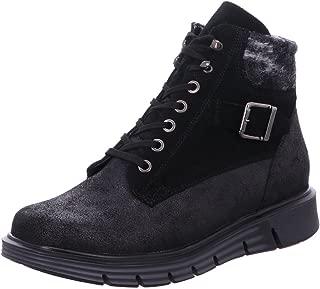 Schuhe Herren WALDLÄUFER Komfort Stiefeletten grün