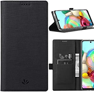 DLHLLC Samsung Galaxy A72 5G Flip Case,Premium Flip Leather Wallet Case Stand Kickstand Card Slot Magnetic Full Body Prote...