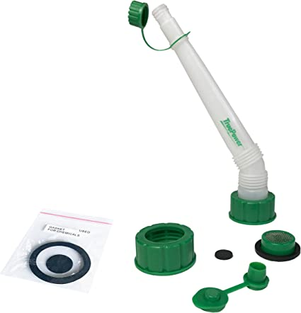 TruePower Replacement Spout and Vent Kit + Extra Gaskets (Green): image