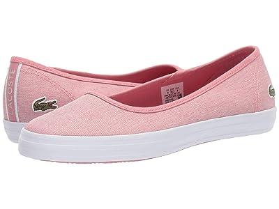 Lacoste Ziane Ballet 319 1 (Pink/White) Women