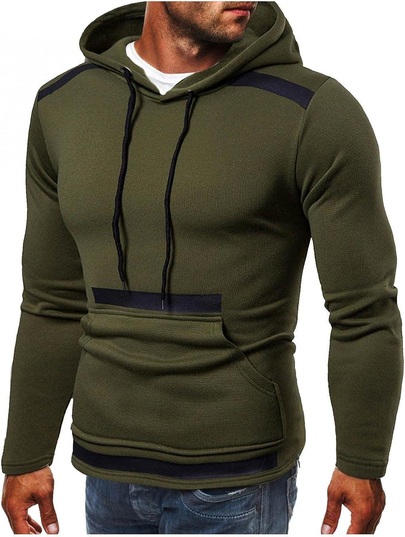 Hoodies for Men Mens Hoodies Men's Casual Pocket Coat Slim-fit Hooded Cardigan Sweatshirts Top Fashion Sweatshirts Hoodies