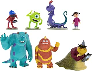 Disney Parks Monsters Inc. Collectible Figurine Playset Play Set Cake Topper