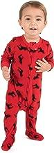 Leveret Fleece Baby Boys Girls Footed Pajamas Sleeper Kids & Toddler Christmas Pajamas (3 Months-5 Toddler)