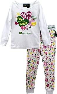 John Deere Boys Girls Fleece Pajama Pants Little Kid//Big Kid