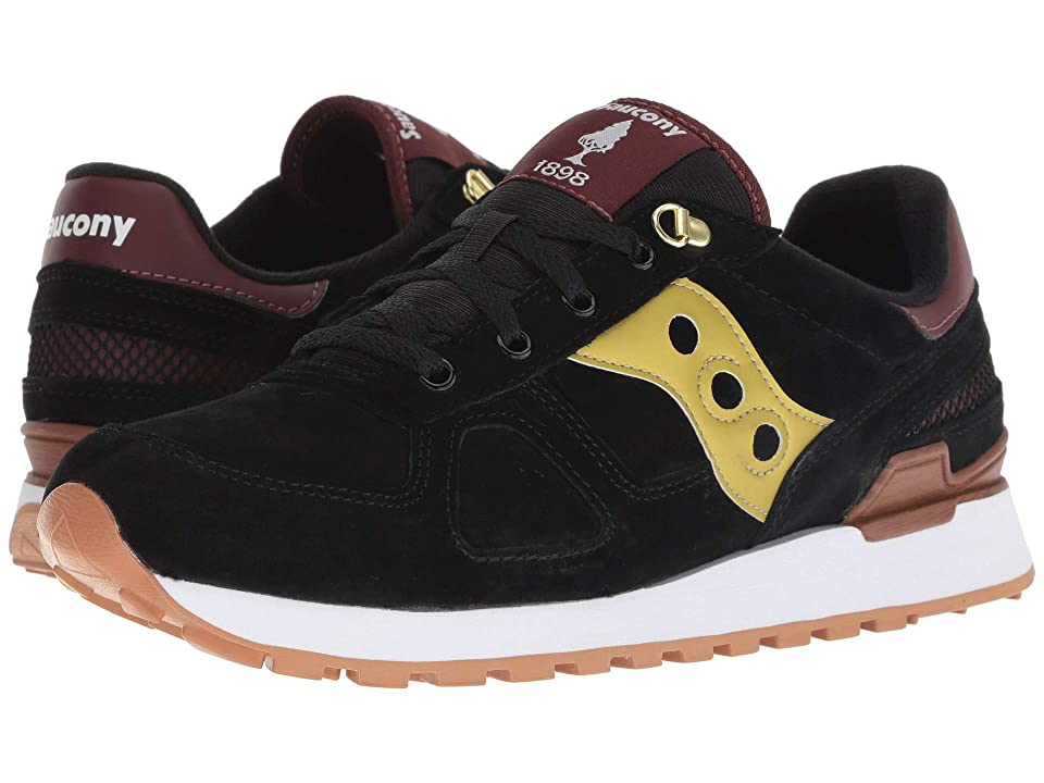 Saucony Originals Shadow Original Suede Ranger (Black/Gold) Men