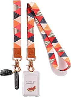 Yesland Wristlet Strap for Key - Set of 2 - Cool Wrist and Neck Strap Key Chain Holder/Lanyard, Perfect for Wallets Cell P...