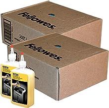 $65 » Fellowes Shredder Waste Bags (2 Boxes) and 24 Oz. Shredder Oil Performance Bundle for Small Office/Home Office Shredders