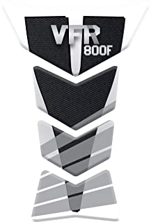 VFR800F VFR 800 F TANKPAD PARASERBATOIO ADESIVO RESINATO EFFETTO 3D compatibile con Hond.a VFR 800F TANKSCHUTZ v4 PROTECTION DE RESEVOIR