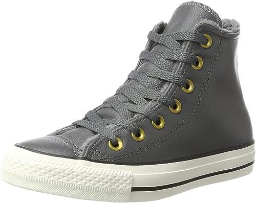 Converse Ctas Hi Thunder/Egret, Sneaker a Collo Alto Unisex-Adulto