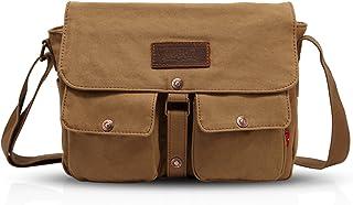 FANDARE Messenger Bag Crossbody Bolso Bandolera Shoulder Bag Portátil Estudiante Viaje Trabajo Escuela Bolsa Mensajero Lon...