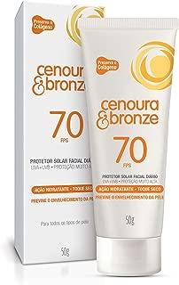 Protetor Solar Loção 50G Fps70 Facial Unit, Cenoura e Bronze