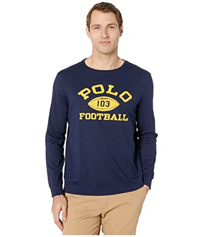 Polo Ralph Lauren Grays Hall Long Sleeve T-Shirt (Cruise Navy) Men