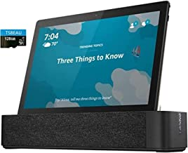 "Lenovo Smart Tab M10, 10.1""Full HD, 3.0GB LPDDR3, 32GB Storage, 1.8 GHz Octa-Core, Slate Black Tablet with Alexa Enabled C..."