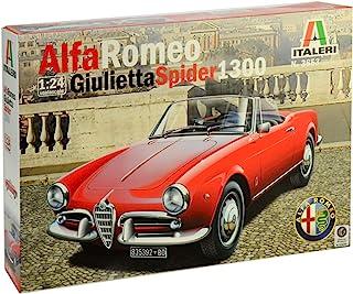 Italeri 1/24 Alfa Romeo Giulietta Spider 1300 (Japanese manual included)