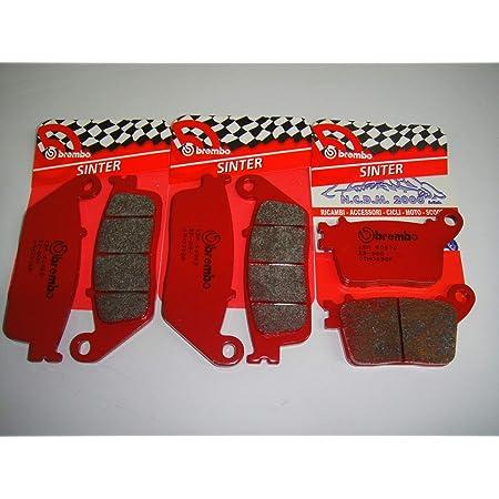 SP45 2000-2001 Pastiglie freno a disco moto anteriori 6Pz adatte per CBR 600 F4//F4I sport 1999-2004 CBR 929 RR-FIREBLADE 2000-2001 CBR 900rrr 1998-2003 VTR 1000 SP-1