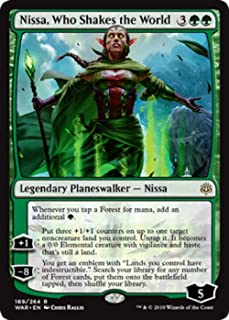 Magic: The Gathering - Nissa, Who Shakes The World - War of The Spark