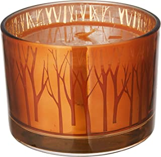 Deco Flair CDL6421 Pumpkin Souffle Large Gilded Glass Candle