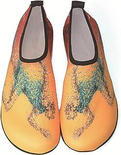 MHXQD Chaussures d'eau Aux Pieds Nus pour Hommes Et Femmes Respirant Anti-Dérapant Beach Swim Surf Yoga Chaussettes Aqua C...
