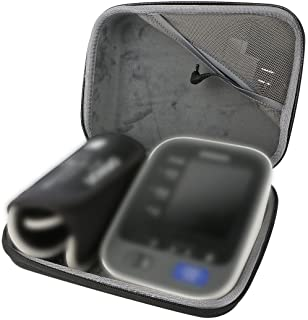 co2crea Hard Travel case for Omron 10 Series BP785N / BP786 / BP786N Upper Arm Blood Pressure Monitor Cuff