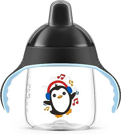 Copo Pinguim 260 ml, Philips Avent, Preto