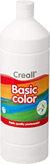 Creall Havo01821 1000 Ml 21 White Havo Basic Color Poster Paint Bottle