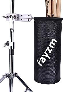 Rayzm Drumstick Halter/Trommelstockhalter/Trommelstock Tasche Beutel, Nylon Mallet/Brush/Beater Stickhalter mit Aluminium-...