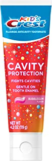 Crest Kid's Cavity Protection Toothpaste Gel Formula, Bubblegum Flavor, 4.2 Ounce