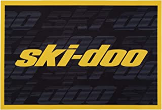 "Ski-Doo Door Mat Rug, 23"" x 36"", Black"