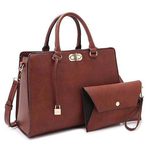 Women s Fashion Handbags Tote Purses Shoulder Bags Top Handle Satchel Purse  Set 2pcs 15cfdc903bb97