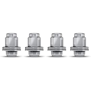 White Knight 5309DL-4 Chrome Duplex Long Mag Lug Nut with Washer for Toyota/Lexus - 4 Piece