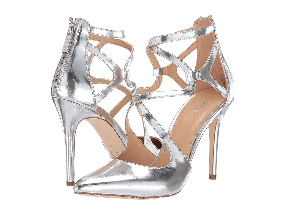 MICHAEL Michael Kors Catia Pump (Silver Specchio) High Heels