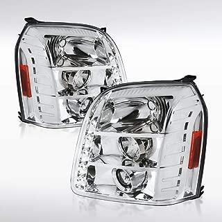 Autozensation For GMC Yukon XL/Yukon Denali Chrome LED Projector Headlights Pair