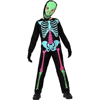 Atosa-23557 Disfraz Esqueleto, multicolor, 5 a 6 años (23557 ...
