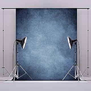Kate Hintergrundstoff für Hochformat, 3 x 3 m, Blau