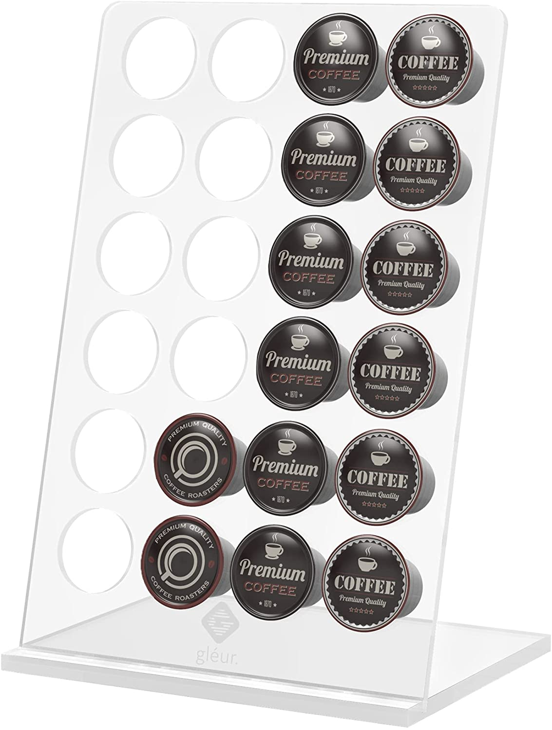 K Cups Coffee Pod Holder - Kcup Acrylic Organizer for Brand new Counter Ranking TOP20