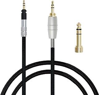 MiCity Cable de extensión de Audio de actualización para Shure SRH440 SRH940 SRH840 SRH750 SRH940 Auriculares1.2m