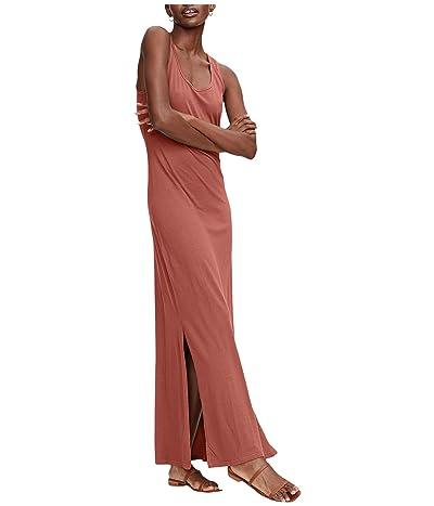 Michael Stars Cotton Modal Isabelle Sleeveless Neck Maxi Dress (Sienna) Women