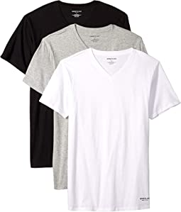 Slim Fit 3-Pack V-Neck Tee