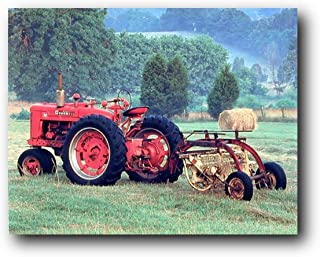 Best red tractor art Reviews