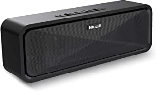 Muziliブルートゥース スピーカー Bluetooth スピーカー speaker 重低音 高音質 臨場感満点 耐久性 ハンズフリー通話 コスパ最高
