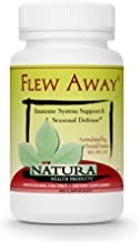 Natura Health Products - Flew Away - Immune System Support & Seasonal Defense Featuring Elderberry Extract - 60 Capsules