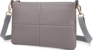 Women Leather Crossbody Bag,Clutch Purse Shoulder Bag for Travelling