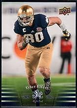 Football NFL 2013 Upper Deck University of Notre Dame #89 Tyler Eifert