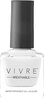 VIVRE Cosmetics Certified Breathable - Water Permeable - Oxygen Permeable - Halal Nail Polish: Soft Serve For Two