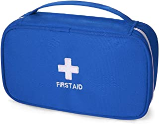 First Aid Bag - First Aid Kit Bag Empty for Home Outdoor Travel Camping Hiking, Mini Empty Medical Storage Bag Portable Po...