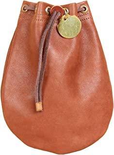 Leather Possibles Drawstring Bag Pouch Money Bag USA Made