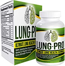 All-in-1 Lung Health Support Supplement - Cleanse - Detox - Pills - Supplements - Capsules