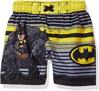 Warner Bros. Boys' Baby Marvel Batman Swim Trunk